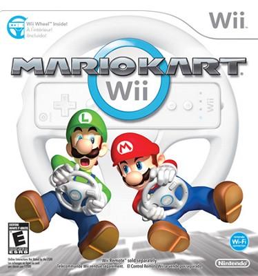Mario Kart Wii with Wii Wheel by Nintendo (Nintendo Wii)