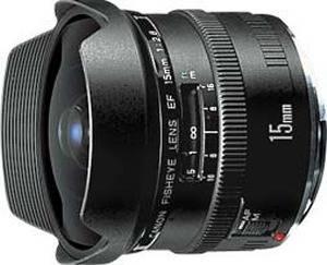 Fisheye EF 15mm F/2.8 Autofocus Lens