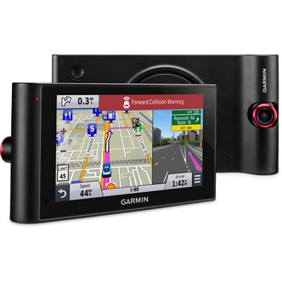 nuviCam LMTHD 6` GPS Navigation System with Built-in Dashcam, Maps & HD Traffic