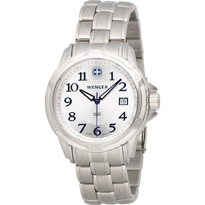 Men's GST Swiss Watch - Silver Dial/Stainless Steel Bracelet