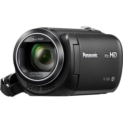 HC-V380K Full HD Camcorder w/Wi-Fi Multi Scene Twin Camera - Black - OPEN BOX