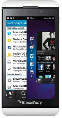 Z10- 16GB - White Unlocked GSM International Smartphone (STL100-1 3G)