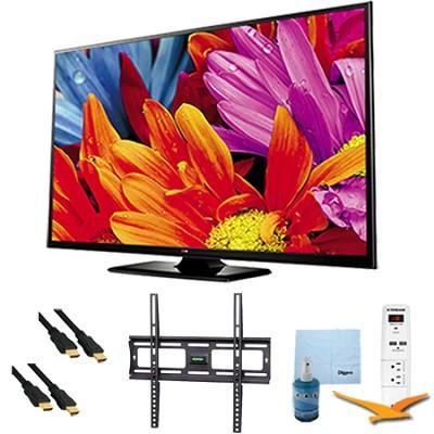 50-Inch Plasma 720p 600Hz HDTV Mount Bundle - 50PB560B