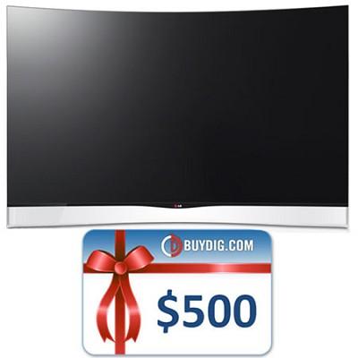 55` OLED Smart TV with Cinema 3D (55EA9800) Bundle