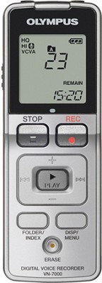 VN-7000 Digital Voice Recorder (Silver)