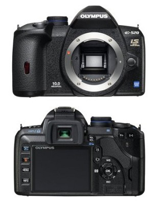 E-520 10.1MP Digital SLR (Body Only)