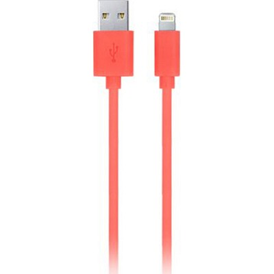 Apple Certified 6.5' 8-Pin Lightning to USB Charge and Sync Cable Pink