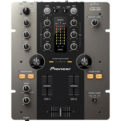 DJM-250-K 2-Channel Performance DJ Mixer - Black