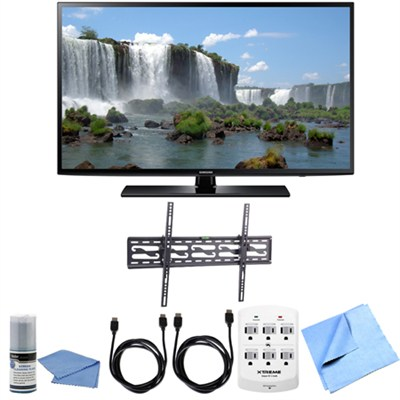 UN65J6200 - 65 inch Full HD 1080p 120hz Smart LED HDTV Tilting Wall Mount Bundle