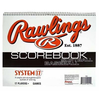 System 17 Baseball/Softball Scorebook