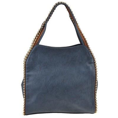 Grayson Shoulder Bag - Blue