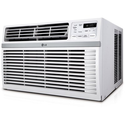 LW1016ER 10,000 BTU 115V Window-Mounted Air Conditioner with Remote Control