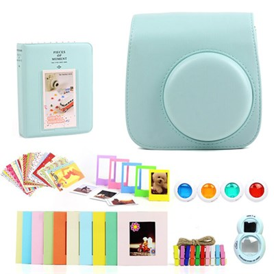 Accessories Bundle for Fujifilm Instax Mini 8/9, Blue