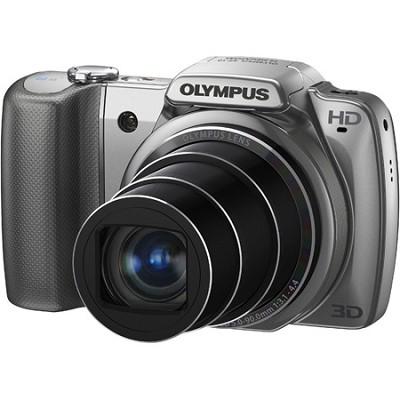 SZ-10 Silver 14MP 3.0 LCD Super-Slim 28mm Wide-Angle 18x Opt Zoom Digital Camera
