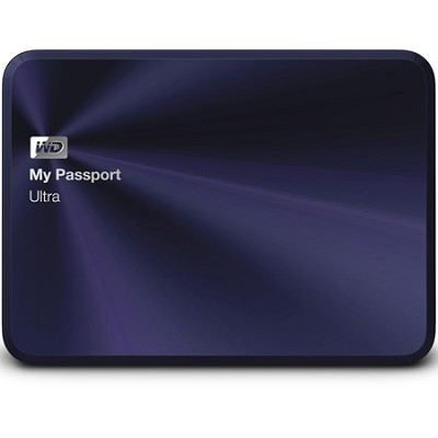 My Passport Ultra Metal Edition 1TB Blue - WDBTYH0010BBA-NESN