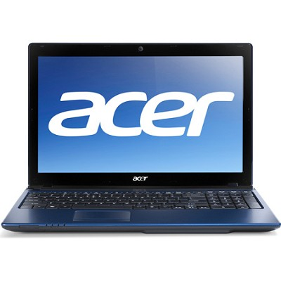 Aspire AS5560-7414 15.6` Notebook PC (Blue) - AMD Quad-Core A6-3420M Accel Proc