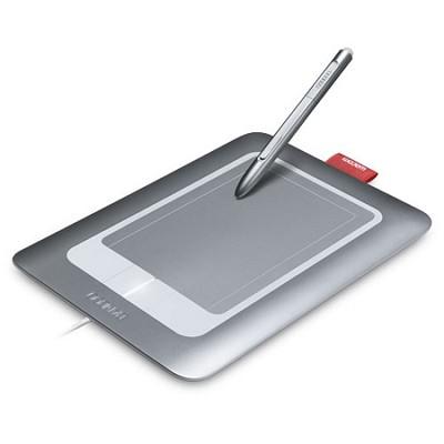 Bamboo Craft - 4-btn Digitizer, stylus - Wired - USB CTH461