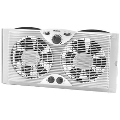 Dual Blade Window Fan with Comfort Control Thermostat - HAWF2041-N