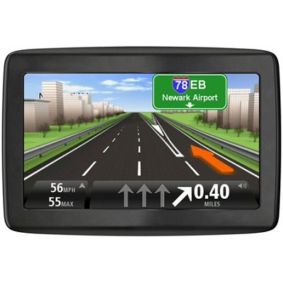 VIA 1405TM 4.3` GPS Navigator, Lifetime Traffic & Map Updates