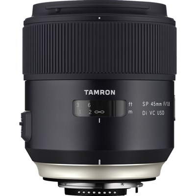 SP 45mm f/1.8 Di VC USD Lens for Canon EOS Mount (AFF013C-700) - OPEN BOX