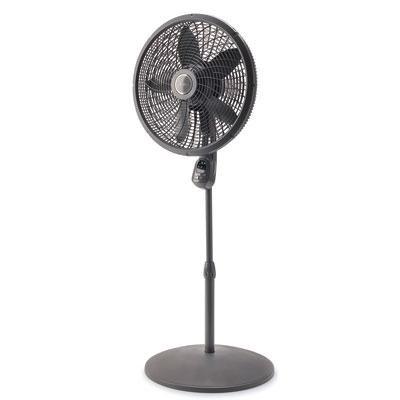 18` Stand Fan w Remote Gray