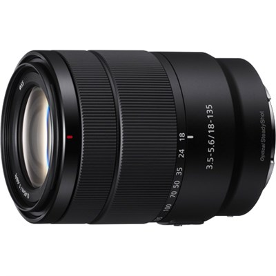 E 18-135mm F3.5-5.6 OSS APS-C E-mount Zoom Lens SEL18135