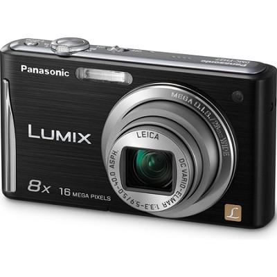 Lumix DMC-FH27 16MP 8x Zoom Black Compact Camera w/ 3.0` Touchscreen - OPEN BOX