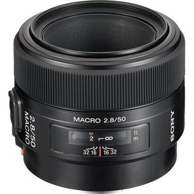 SAL50M28 - 50mm f/2.8 Macro Lens - OPEN BOX