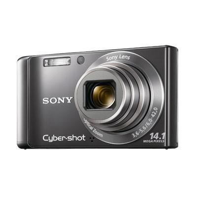 Cyber-shot DSC-W370 14MP Silver Digital Camera w/ 720p HD Video - Open Box