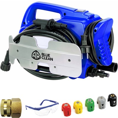 AR 118 1,500 PSI 1.5 GPM Hand Electric Pressure Washer Deluxe Accessory Bundle