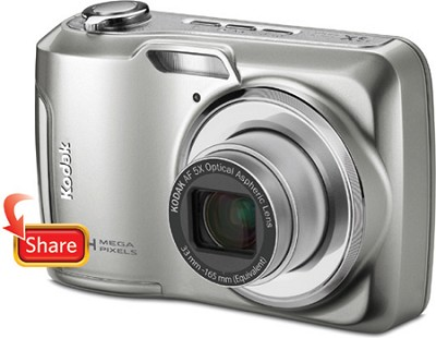EasyShare C195 14MP 3.0 inch LCD Digital Camera - Silver