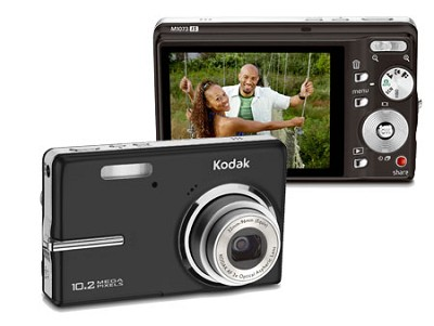 EasyShare M1073 IS 10.2 MP Digital Camera (Black)