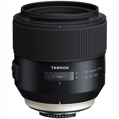SP 85mm f1.8 Di VC USD Lens for Nikon Full-Frame DSLR Cameras (F016) Refurbished