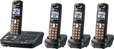 KX-TG6444T DECT 6.0 Expandable Digital Cordless Phone System