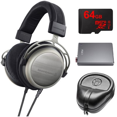 T1 Second Generation Audiophile Stereo Headphone w/ A5 Amp Bundle