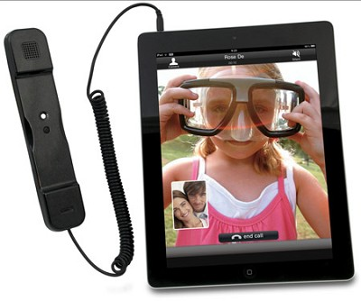 Telephone Handset for iPad