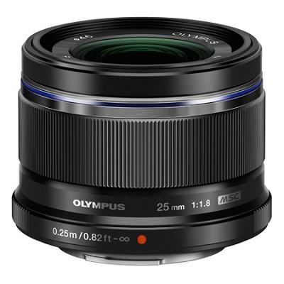 M.25mm f1.8 Lens - Black