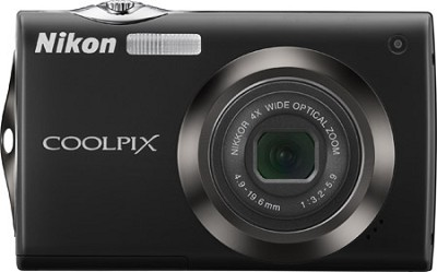 COOLPIX S4000 Digital Camera (Black)