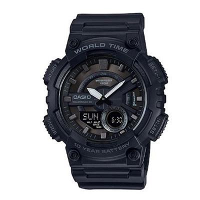 AEQ110W 1BV Blk Ana Digi Watch