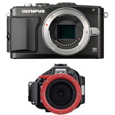 E-PL5 PEN Digital Camera and 14-42 PT-EP10 Combo