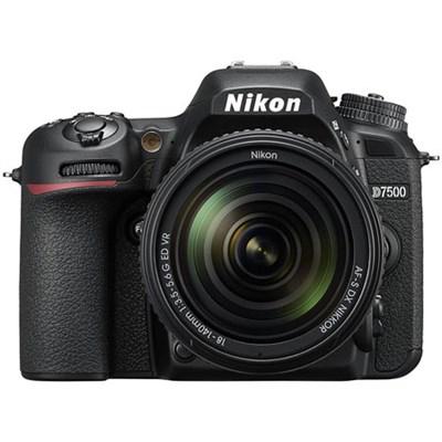 D7500 20.9MP DX-Format Digital SLR Camera + AF-S 18-140mm f/3.5-5.6G ED VR Lens