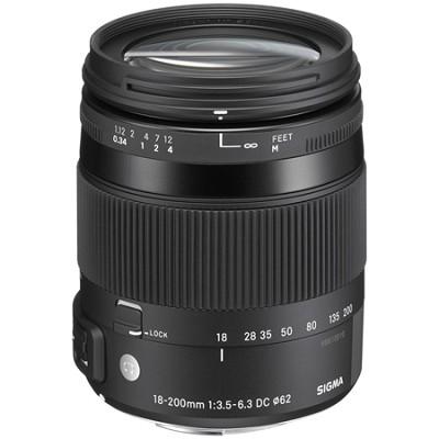 18-200mm F3.5-6.3 DC Macro OS HSM Lens for Pentax SLR's
