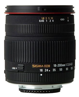 18-200mm F3.5-6.3 DC 11.1x Zoom Lens for Nikon