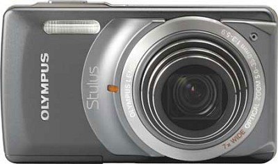 Stylus 7010 12MP Digital Camera - 7x Dual Image Stabilized Zoom, 2.7 LCD (Grey)