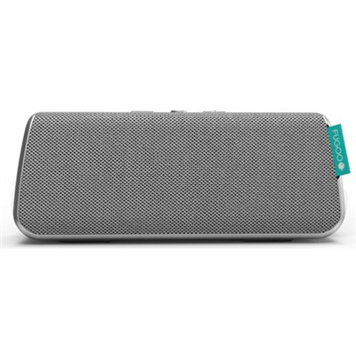 Style Portable Waterproof Speaker with Bluetooth - Silver (F6STSS01)