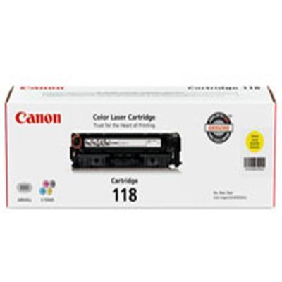 118 Yellow Toner Cartridge - 2659B001AA