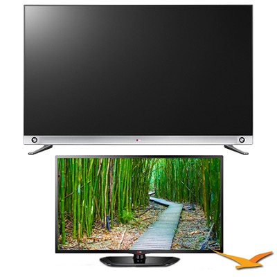 65-Inch 240Hz 3D Nano-Full LED Plus 4K UHDTV SmartTV 2 TV Bundle