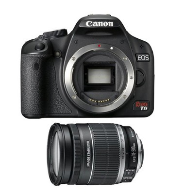 EOS Rebel T1i with 18-200mm Lens
