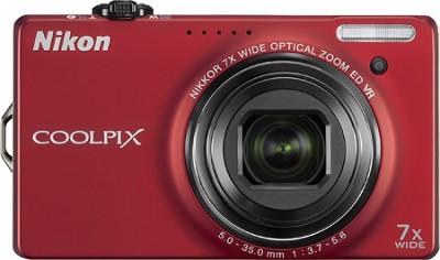 COOLPIX S6000 14.2 Megapixel Digital Camera (Red)