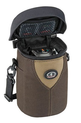 3392 Aero 92 Compact Camcorder/Camera Bag (Brown/Tan)